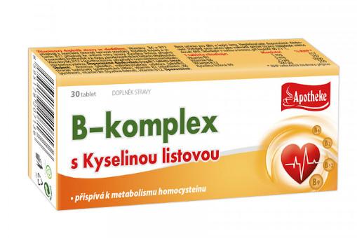 B-komplex s kyselinou listovou