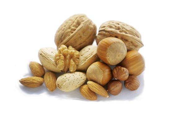 Ořechy a oříšky