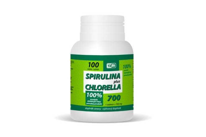 Spirulina Plus Chlorella