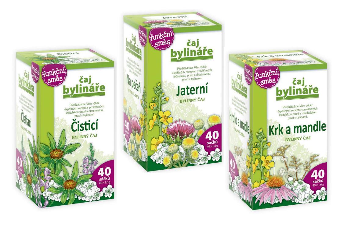 Od bylináře – Porcované čaje bylinné