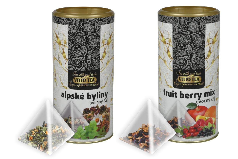 Tubus – Porcované čaje ovocné VITTO TEA