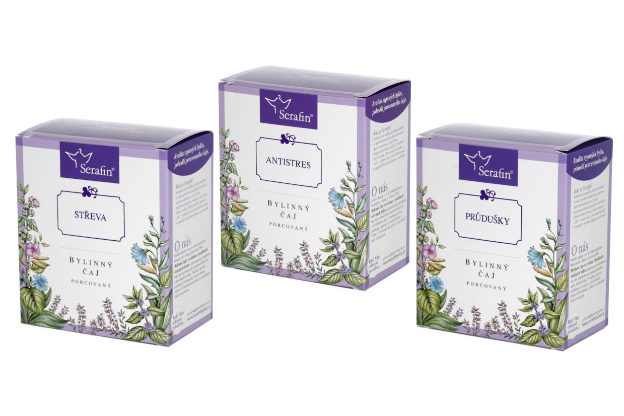 Serafin – Porcované bylinné čaje