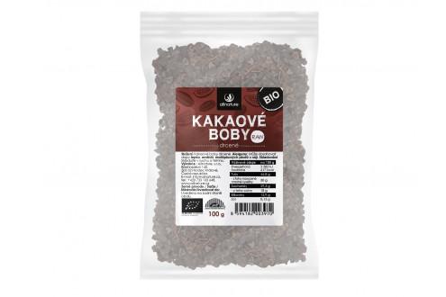 Bio Kakaové boby drcené RAW 100g