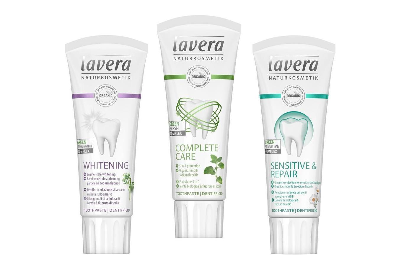 Zubní pasty LAVERA