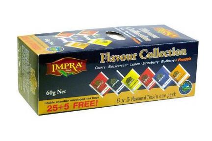 Kolekce černého čaje IMPRA