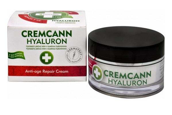 Cremcann hyaluron –  přírodní pleťový krém