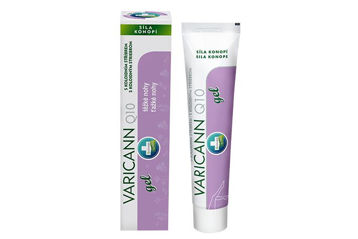 Varicann Q10 konopný gel