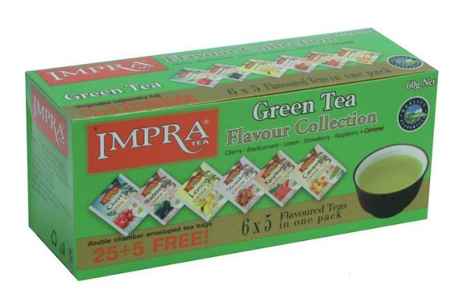 Kolekce zeleného čaje IMPRA